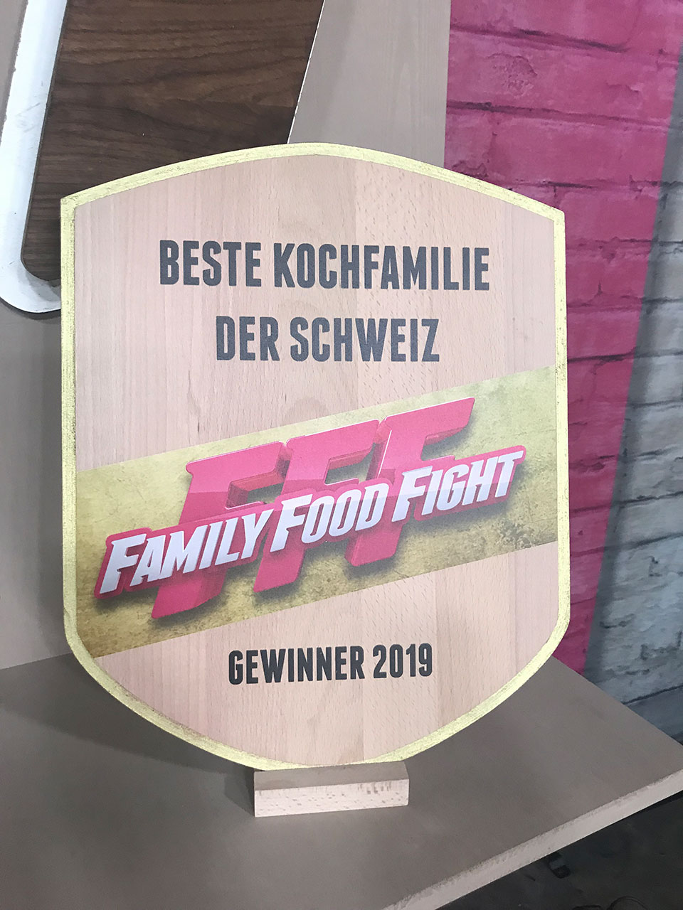 Bühnenbild Shows - Family Food Fight
