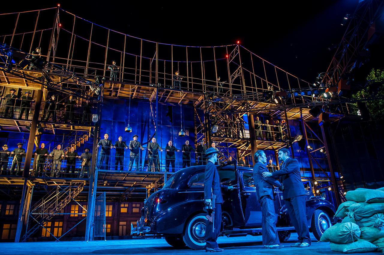 Bühnenbild Kultur - Oper Schinznach - Il Trovatore