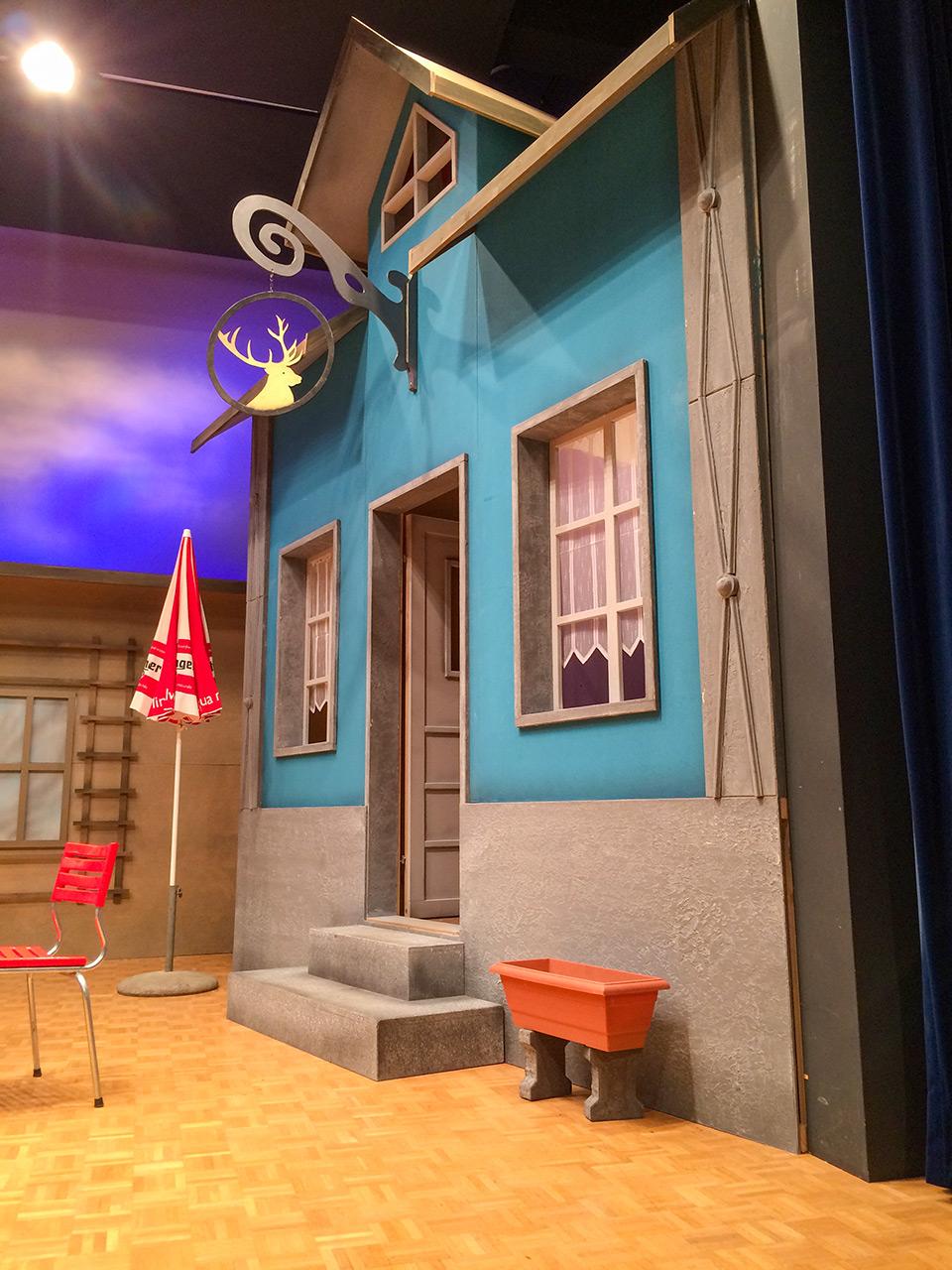 Bühnenbild Kultur - Theater Zufikon - Laientheater