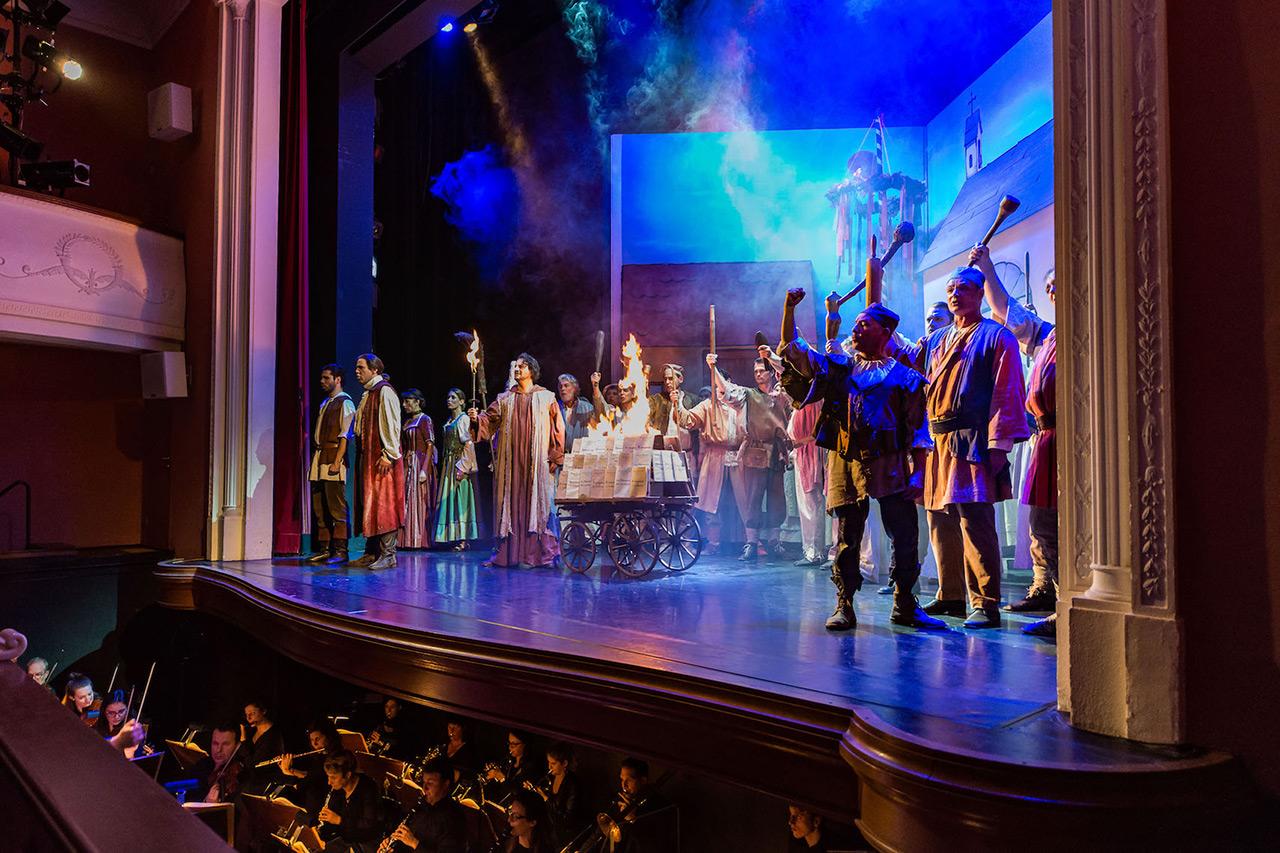 Bühnenbild Kultur - Stadttheater Sursee - Boccaccio