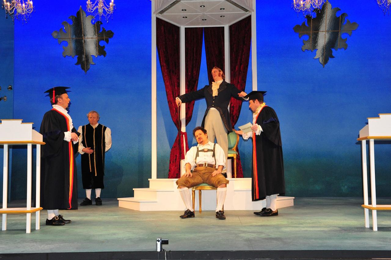 Bühnenbild Kultur - Operette Beinwil - Der Vogelhändler