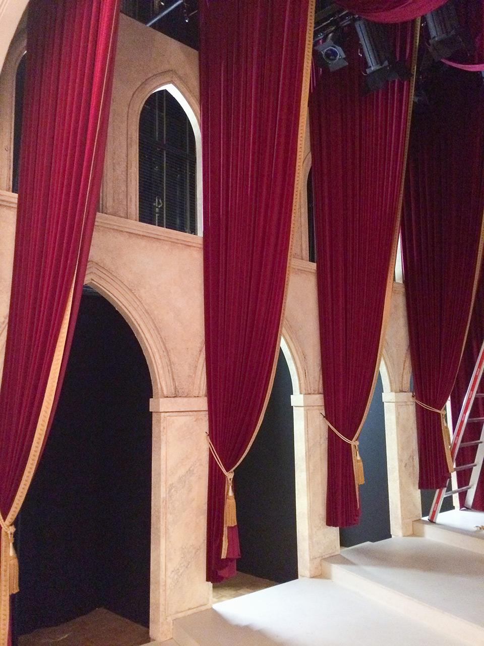 Bühnenbild Kultur - Operette Beinwil - Eine Nacht in Venedig