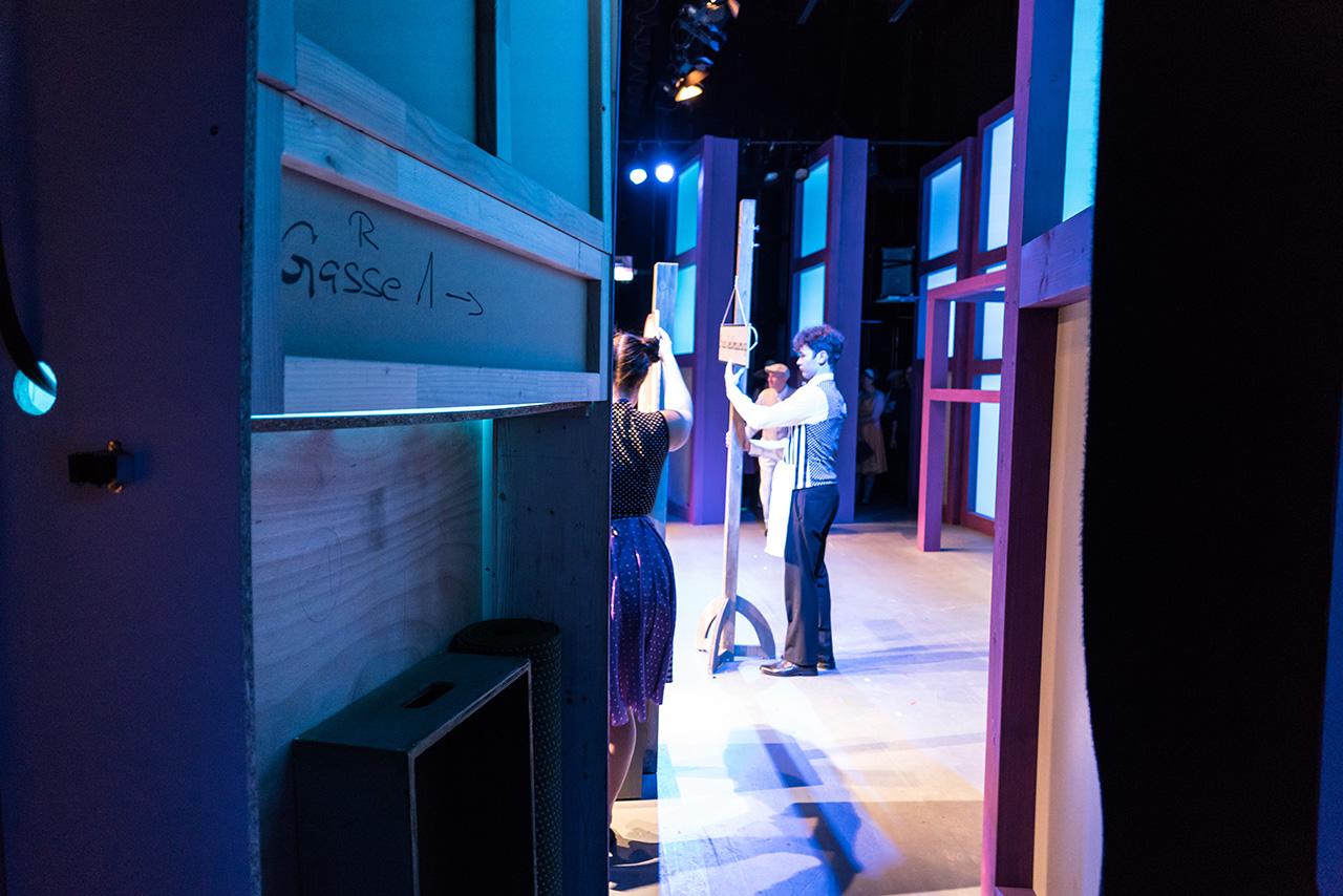 Bühnenbild Kultur - Operette Beinwil - Im weissen Rössl