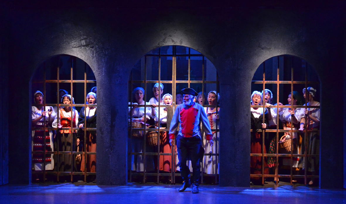 Bühnenbild Kultur - Operette Entlebuch - Der Bettelstudent