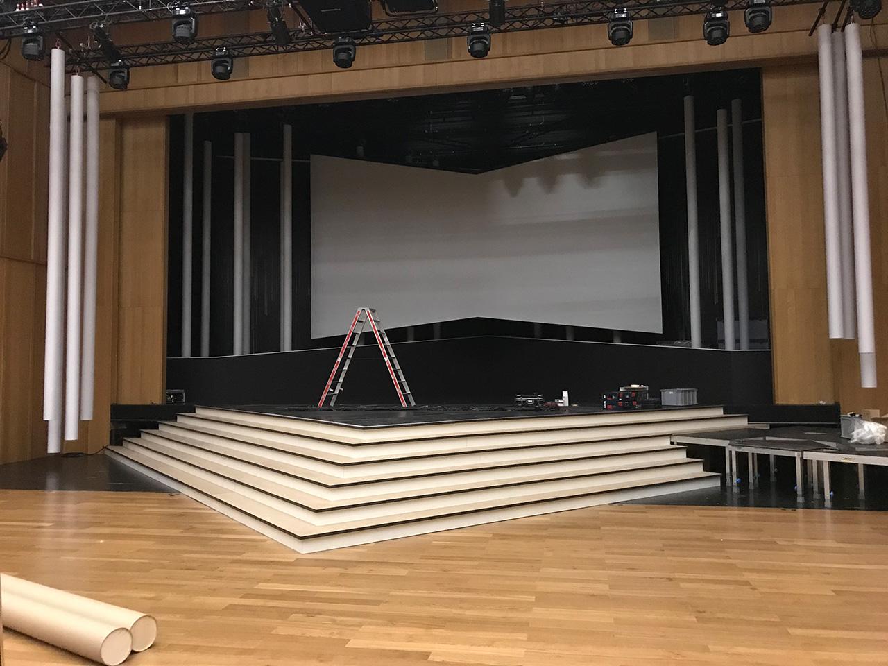 Bühnenbild Shows - Staatsfeier-300-jahre Fürstentum Liechtenstein