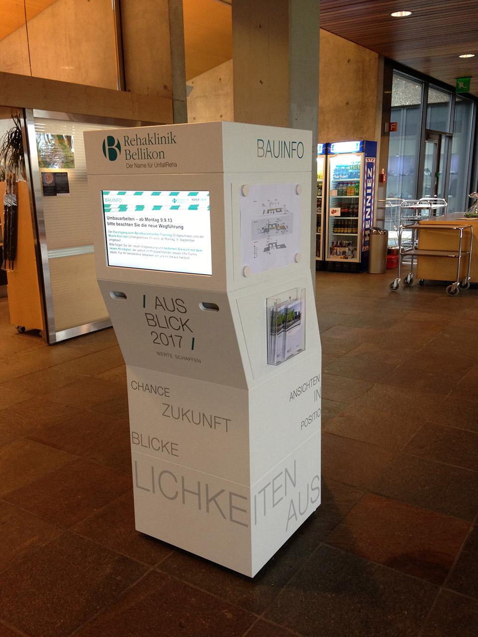 Dekobau - Herstellung von Möbel mit integrierten Screens
