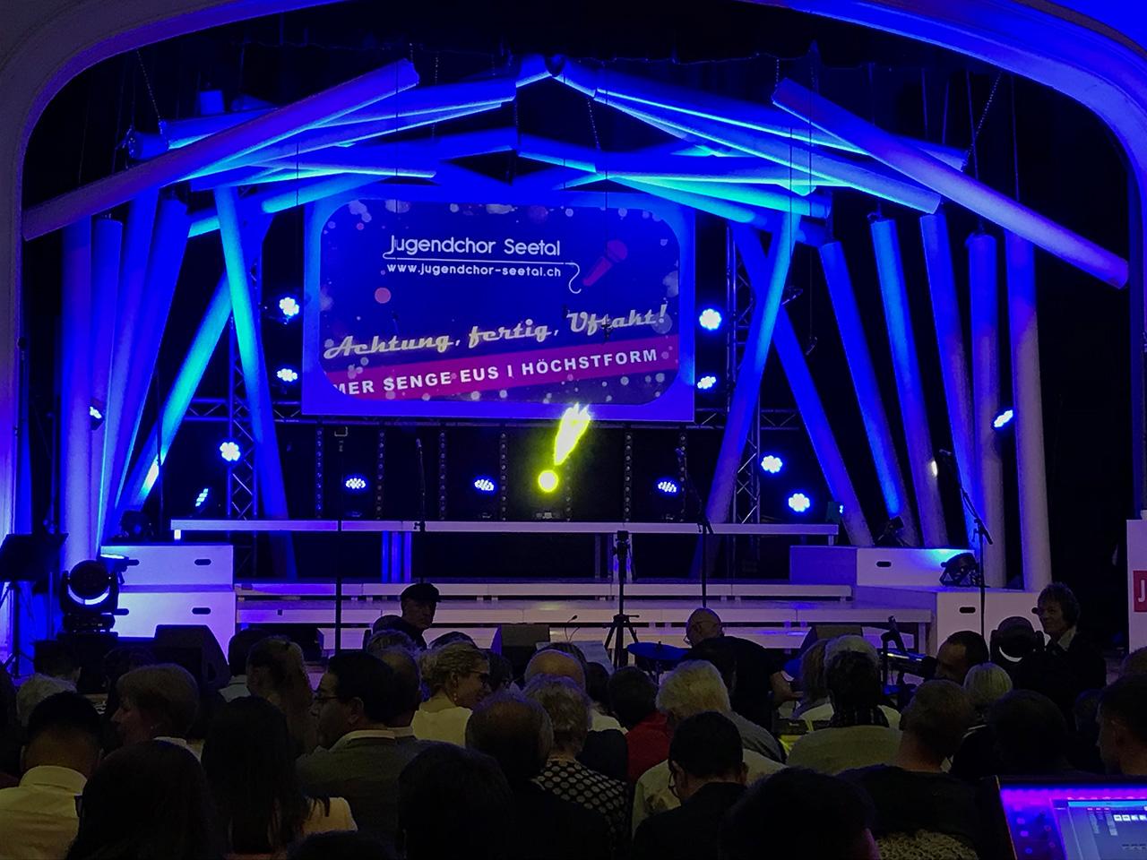 Events - Jugendchor Seetal - Bühnenset seit 2016