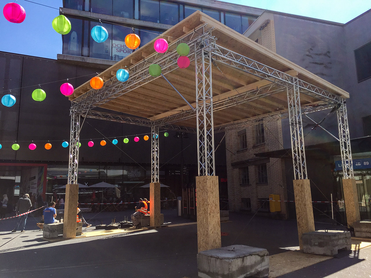 Events - Jubiläum Sihl City