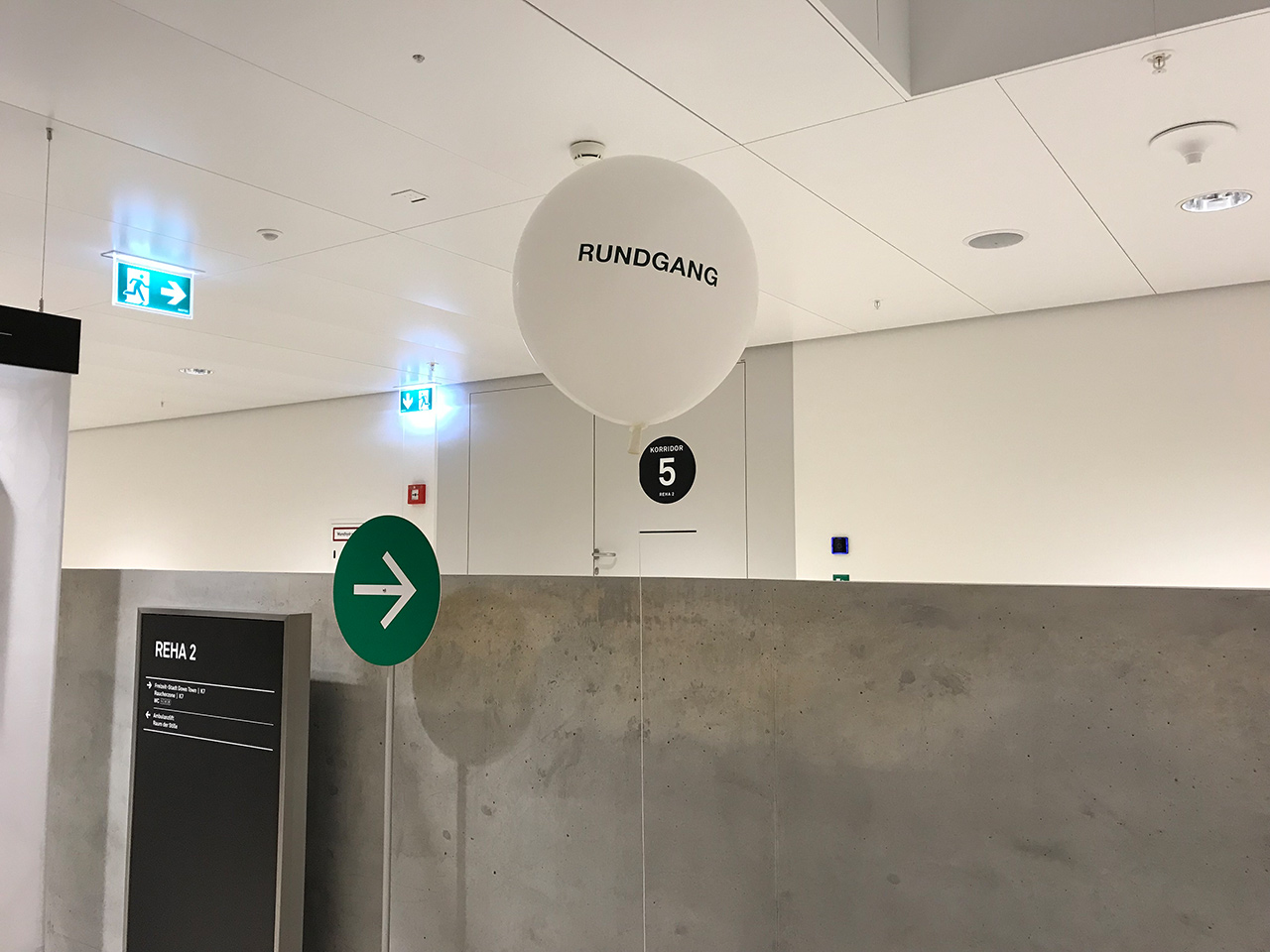 Events - Neubaueröffnung Rehaklinik Bellikon