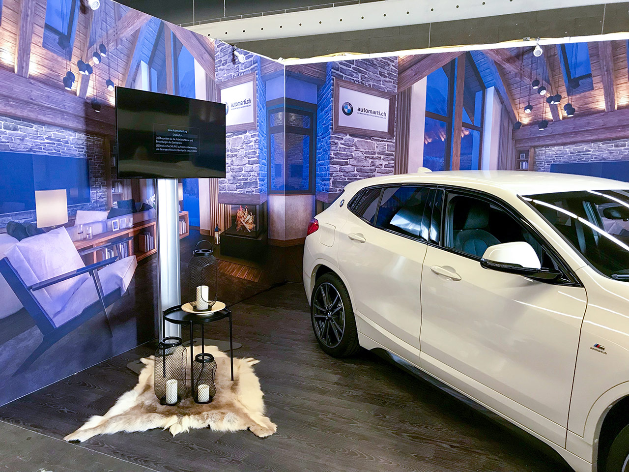 Messebau - Messestand OHA Thun - Auto Marti