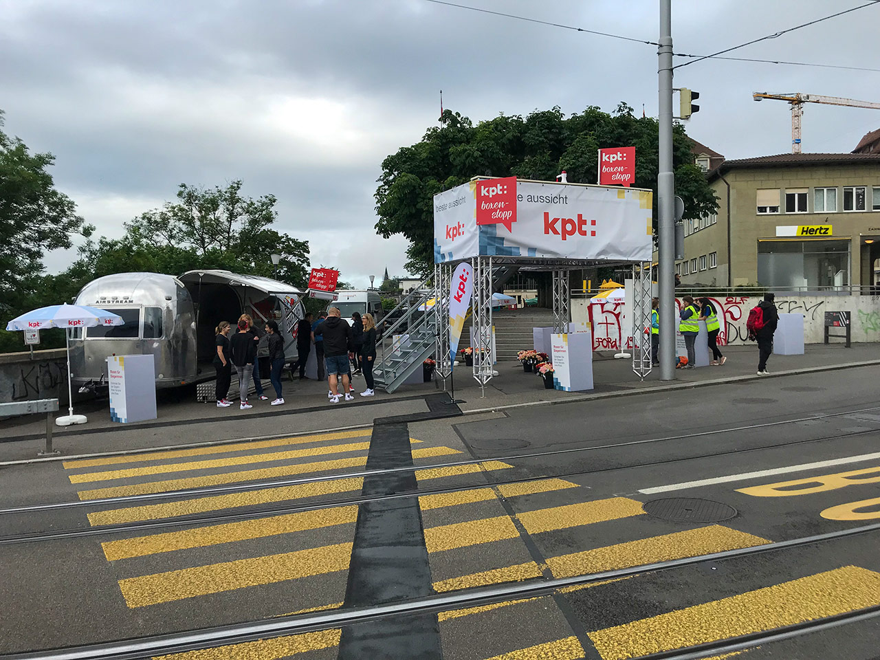 Messebau - Eventpartner Messestand KPT Krankenkasse