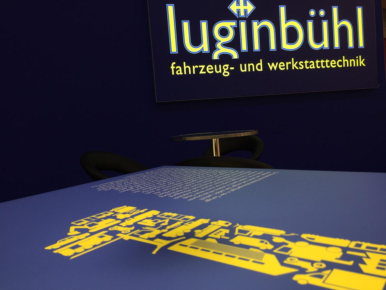Messebau - Diverse Messestände Luginbühl