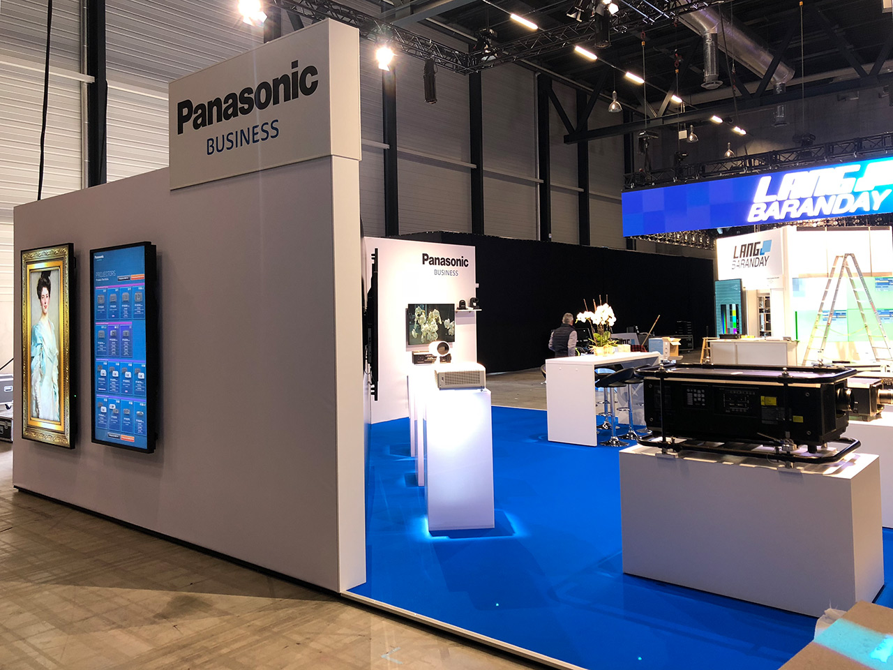 Messebau - Messestand Light and Sound Panasonic