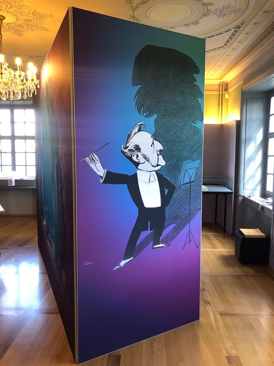 Museen-Ausstellungen - Ausstellung Sigfried Wagner, Richard Wagner Museum Luzern