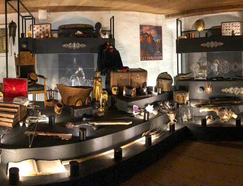 Ausstellung Wunderkammer, Schloss Hallwyl