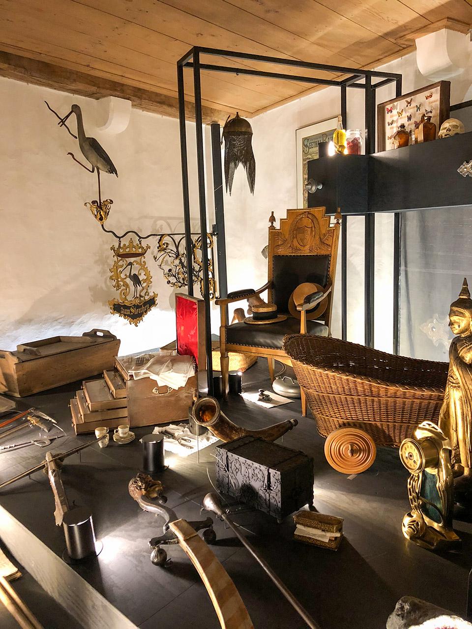 Museen-Ausstellungen - Ausstellung Wunderkammer Schloss Hallwyl
