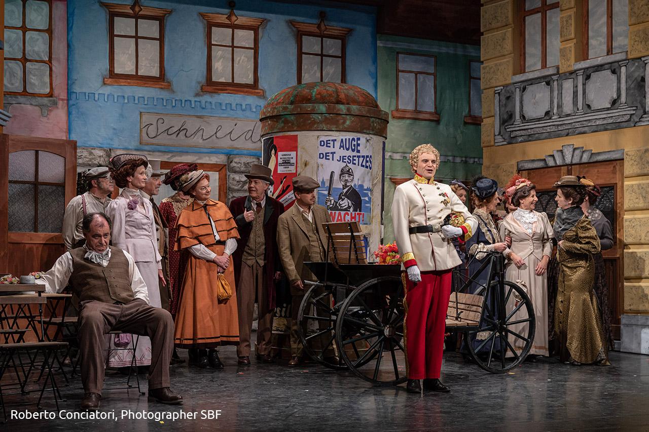 Bühnenbild Kultur - Operette Stadttheater Sursee - Frau Luna