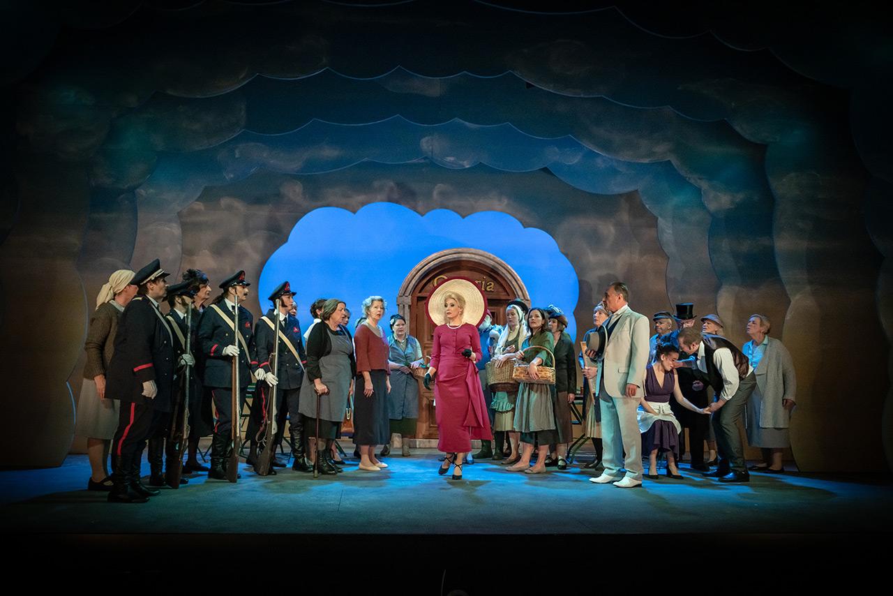 Bühnenbild Kultur - Operette Beinwil - Casparone