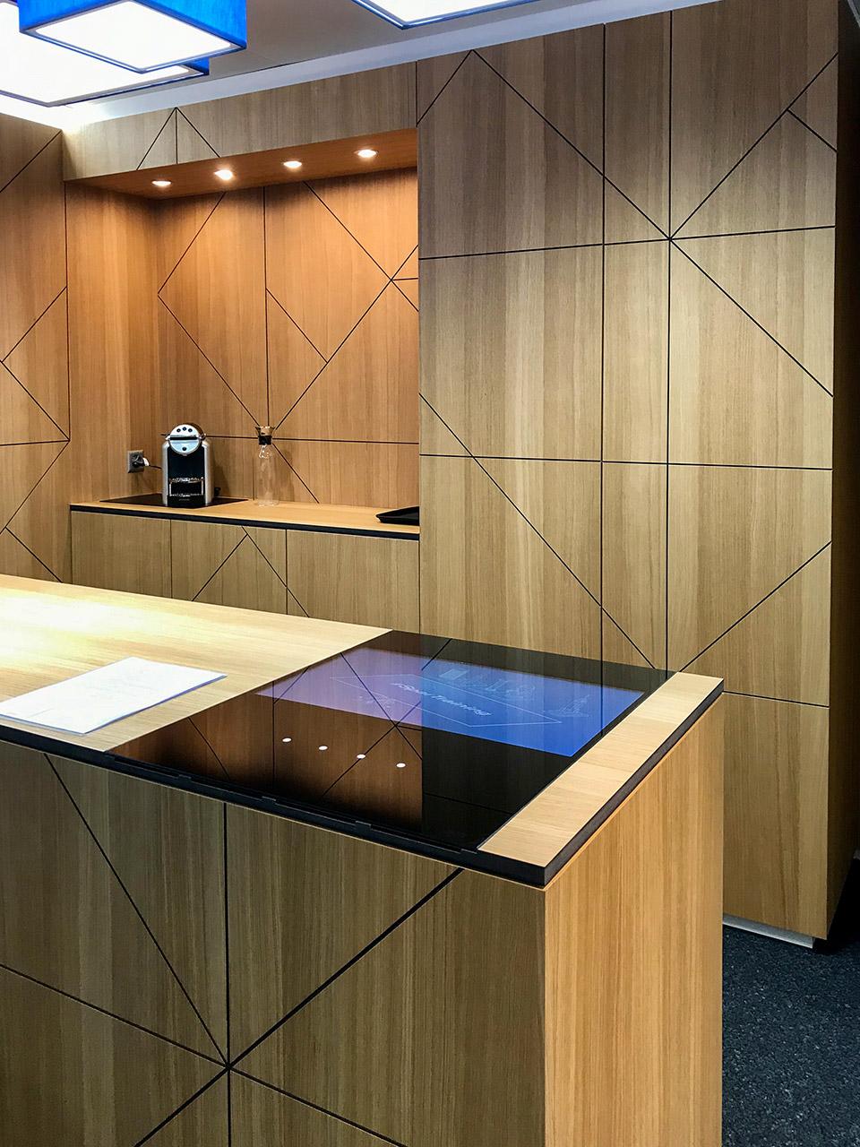 Ladenbau - Hypothekarbank Lenzburg Filiale Wohlen