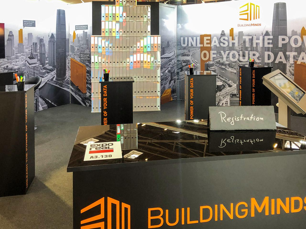Messebau - Messestand Building Minds